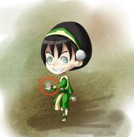 Toph Beifong- High Six by Yiamme