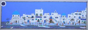 Town of the Aegean by oku5y