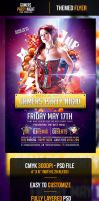 Gamers Party Night Flyer Template by odindesign