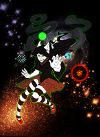 Jade in Space by Manicfool