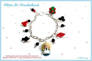 Alice In Wonderland Bracelet by Tonya-TJPhotography