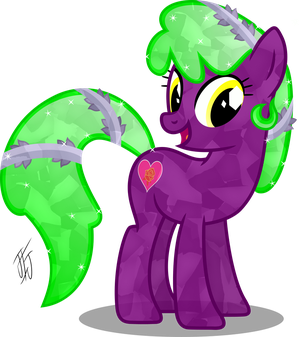 Comission Crystal Rose Love by MLP-Scribbles