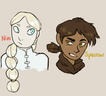 New Characters by aellaeart