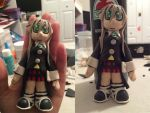 Maka Keychain Clay figure by SoulEaterLover123123