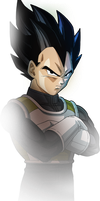 Frieza's Resurrection: New Vegeta by sonichedgehog2