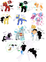 Op MLP My Little Strawhats by Nire-chan