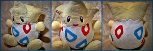 Togepi Pokemon Plush (For Sale) by Rainbow-Rocket