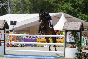 3DE Show Jumping Phase Stock 6 by LuDa-Stock