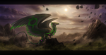 Wind to thy wings - Speed-painting by Enigmatic-Ki