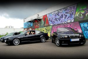 M3 E46 coupe et cab.. by psycko91