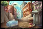 NY Alley by Dr-Stain