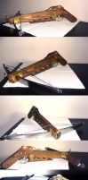 Steampunk pistol crossbow by Lord-Rzeznik