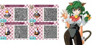 Hyper Police Animal Crossing New Leaf QR Code by SailorUsagiChan