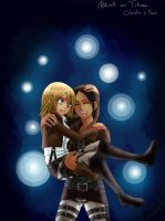 Ymir x Christa [Colo] by Valeya