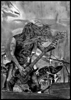 Tom Araya - SLAYER - Black Magic by Red-Szajn