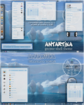 AnTaRtIkA - gnomeshell and cinnamon theme by rvc-2011