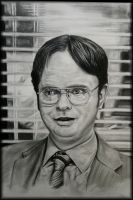 Dwight Schrute-Beet Farmer by crunchwing