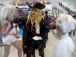 Davy Jones and the witches by Kalix5