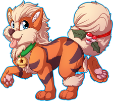 Holiday Arcanine by anuvia