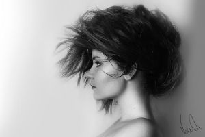 Black white, profile by noraok
