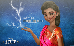 Adhira, Queen of Lightning by uzunae