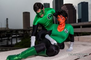 Green Lantern Shoot - 05 by PAPANOTZZI