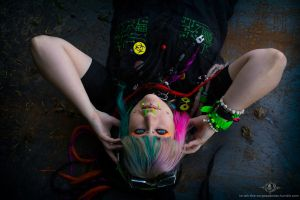 .:Neon-Goth:. by Inriah