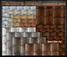 Texture Metal  Collection 2015 by Tetelle-passion