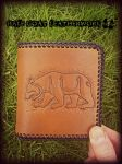 Pictish Bear Wallet by Half-Goat