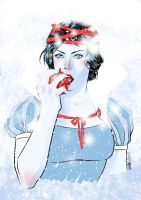 Snow White by Elena Casagrande by AshcanAllstars