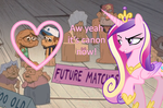 Yeah she ships it by bronybyexception