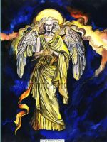 Archangel Jophiel. by fanitsafantasy