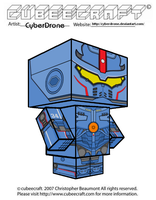 Cubeecraft - Gipsy Danger by CyberDrone