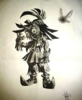 Skull kid and Tael (Zelda Majora's Mask) by meganutty10
