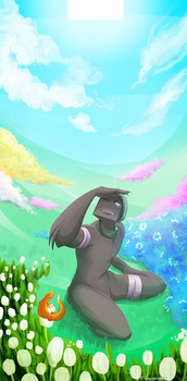 .: AT Flowery Lorem :. by IronicalGhosty
