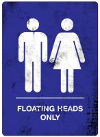Floating Heads Only s by biotwist