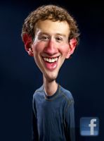 Mark Zuckerberg - Facebook by RodneyPike