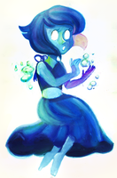 Watercolor Lapis Lazili by Zamiiz