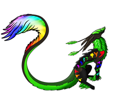 Rainbow 'Dash'  Venom by Returu