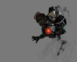 Bioshock 2 Concentration 2 WIP by reggy66