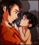 Sirius and Little Harry by irishgirl982