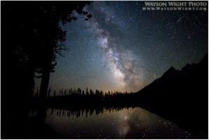 Milky Way Reflections by tourofnature