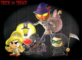 Trick or Treat. by paet