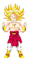 Broly chibi by MarcBruil
