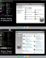 iPhone Theme Screenshots by Flahorn