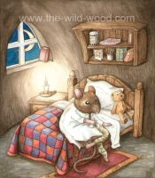 Bedtime for Peasemore by WildWoodArtsCo
