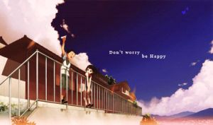 Don't worry be happy by Chelimka