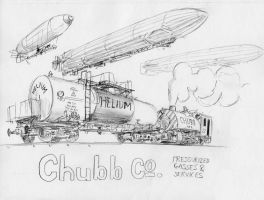 Chubb Co. Pressurized Gas Services by steamby51