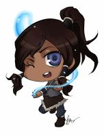 Legend of Korra chibi ver. by Butterfingger