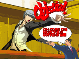 Persona 4: Ace Attorney! by dmetrius96